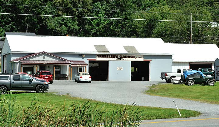 Tresslers garage auto repairs for deep creek lake and for Garage md auto